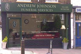 funeral directors storefront