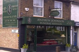 andrew johnson funeral services storefront